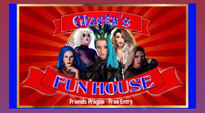 Gizela's Fun House Presents: Burlesque with DJ WhiteCat à Prague le mer.  4 septembre 2019 de 22h00 à 06h00 (Clubbing Gay Friendly)