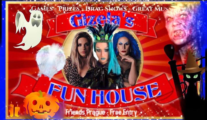 Gizela's Fun House: Angels & Demons with DJ WhiteCat in Prague le Wed, October 30, 2019 from 10:00 pm to 06:00 am (Clubbing Gay Friendly)