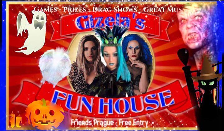 Gizela's Fun House: Angels & Demons with DJ WhiteCat a Praga le mer 30 ottobre 2019 22:00-06:00 (Clubbing Gay friendly)