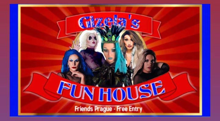 Gizela's Fun House Presents: BlackOut with DJ WhiteCat à Prague le mer. 28 août 2019 de 19h00 à 06h00 (Clubbing Gay Friendly)