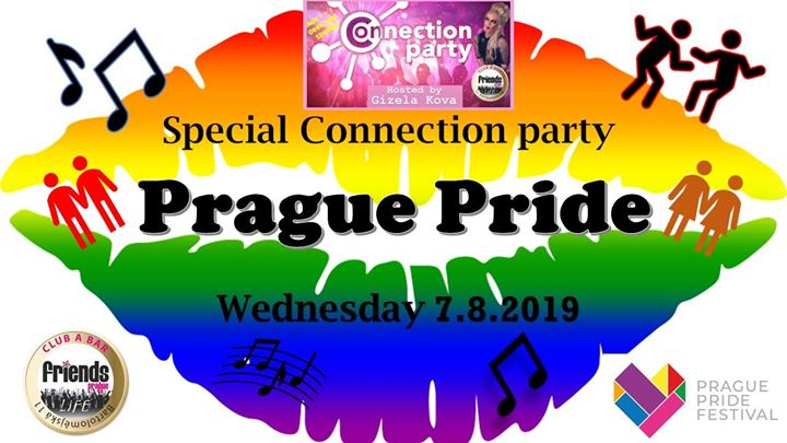 Special Connection Party - Gizela's Fun House / DJ WhiteCat in Prag le Mi  7. August, 2019 19.00 bis 06.00 (Clubbing Gay Friendly)