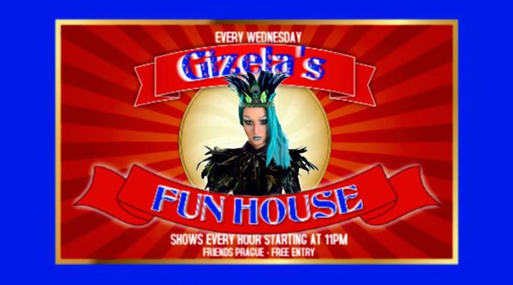 Gizela's Fun House: the Preview / DJ Pierre Marco en Praga le jue  4 de julio de 2019 22:00-06:00 (Clubbing Gay Friendly)