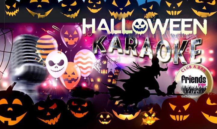 Halloween Karaoke Night - MC Kristina & Gizela / DJ WhiteCat en Praga le mar 29 de octubre de 2019 19:00-05:00 (Clubbing Gay Friendly)