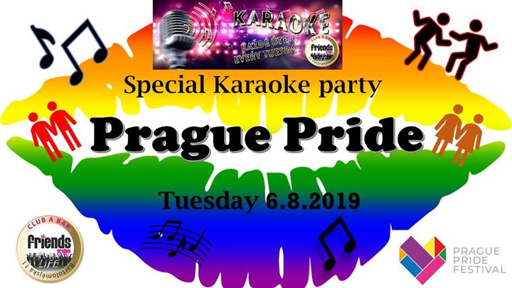 Rainbow Karaoke Night - MC Kristina / DJ WhiteCat en Praga le mar  6 de agosto de 2019 19:00-06:00 (Clubbing Gay Friendly)