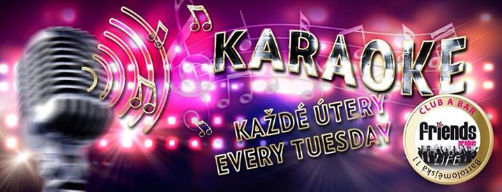 Karaoke Night - MC Kristina / DJ WhiteCat en Praga le mar  9 de julio de 2019 19:00-05:00 (Clubbing Gay Friendly)
