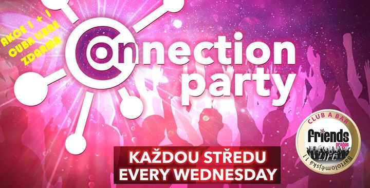Friends Connection Party - MC Kristina / DJ WhiteCat em Praga le qua, 19 junho 2019 19:00-06:00 (Clubbing Gay Friendly)