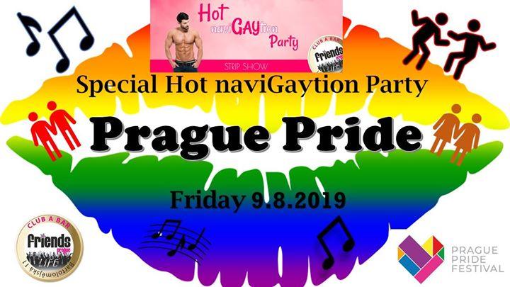 Hot NaviGAYtion Party - MC Kristina / DJ MeeVee in Prag le Fr  9. August, 2019 19.00 bis 06.00 (Clubbing Gay Friendly)