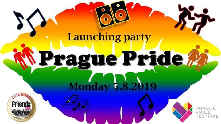 Prague Pride 2019 Launching party MC Star / DJ Kitty in Prag le Mo  5. August, 2019 19.00 bis 06.00 (Clubbing Gay Friendly)