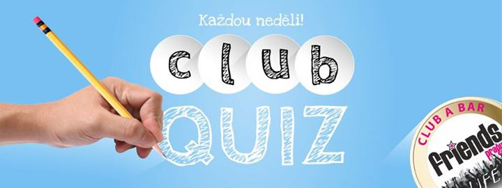 Sunday Club Quiz in Prague le Sun, July 21, 2019 from 07:00 pm to 06:00 am (Clubbing Gay Friendly)