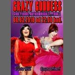 Travesti show Crazy Goddess (Vlasta a Roxana) à Prague le jeu.  8 mars 2018 de 22h00 à 02h00 (Clubbing Gay Friendly)