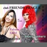 Travesti show s Palomou Eiffel a Alexis Sathura à Prague le jeu. 25 janvier 2018 de 22h00 à 02h00 (Clubbing Gay Friendly)