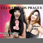 Travesti show s Palomou Eiffel a Alyssou Flowers in Prague le Thu, December 28, 2017 from 10:00 pm to 02:00 am (Clubbing Gay Friendly)