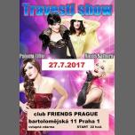 Travesti Show S Palomou a Alexis à Prague le jeu. 27 juillet 2017 de 22h00 à 02h00 (Clubbing Gay Friendly)