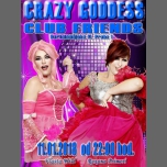 Travesti show s Crazy Goddess (Vlasta,Roxana) in Prague le Thu, January 11, 2018 from 10:00 pm to 02:00 am (Clubbing Gay Friendly)