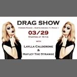 Drag Show - Laylla Calderone & Hayley The Strange à Prague le jeu. 29 mars 2018 de 22h00 à 05h00 (Clubbing Gay Friendly)