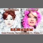 Travesti show s Crazy Goddess (Vlasta a Roxana) à Prague le jeu.  8 février 2018 de 22h00 à 02h00 (Clubbing Gay Friendly)