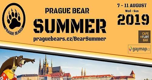Prague Bear Summer 2019 / Pražské medvědí léto 2019 in Prag von  7 bis 11. August 2019 (Festival Gay, Bear)