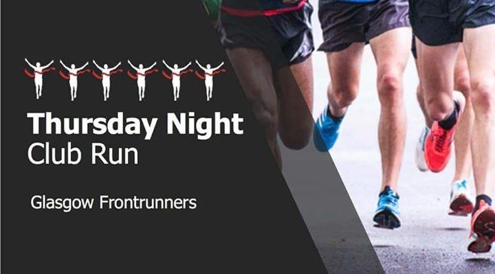 GFR Big Club Run in Glasgow le Do 25. Juli, 2019 18.15 bis 20.00 (Sport Gay, Lesbierin)