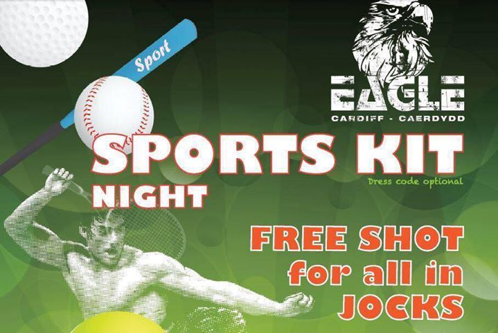 Sports Kit Night at Eagle in Cardiff le Sa 31. August, 2019 22.00 bis 04.00 (Clubbing Gay)