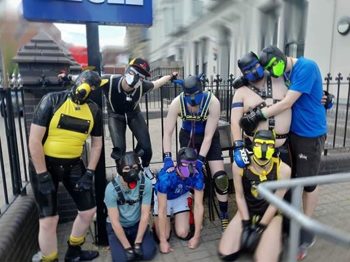 Human Pup Meet and Mosh in Cardiff le Sat, August  3, 2019 from 02:00 pm to 06:00 pm (Meetings / Discussions Gay)