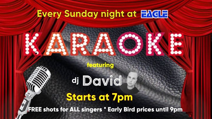 Eagle Karaoke in Cardiff le Sun, December  1, 2019 from 07:00 pm to 11:00 pm (After-Work Gay)