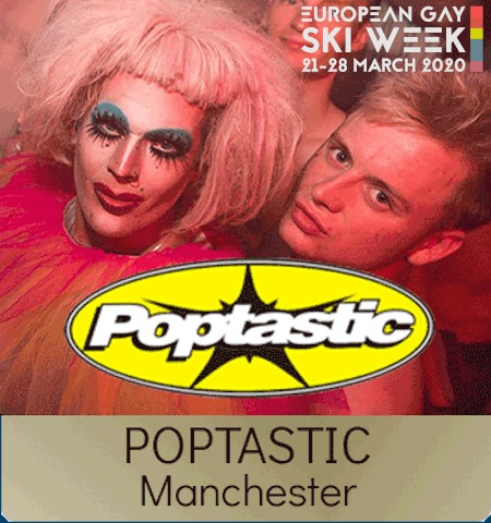 EGSW 2020 - Poptastic in Bourg-Saint-Maurice le Sun, March 22, 2020 from 10:00 pm to 02:00 am (Clubbing Gay, Lesbian, Hetero Friendly)