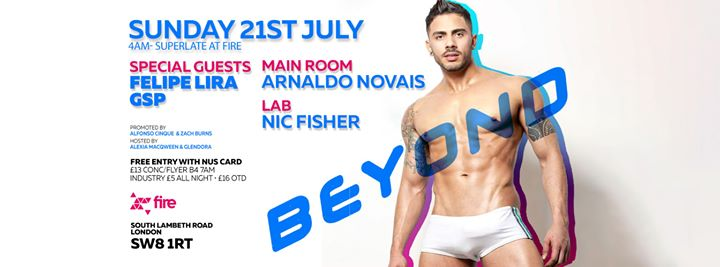 Beyond Afterhours - Sunday 21st July 2019 / 4am - Superlate in London le Sun, July 21, 2019 from 04:00 am to 12:00 pm (After Gay)