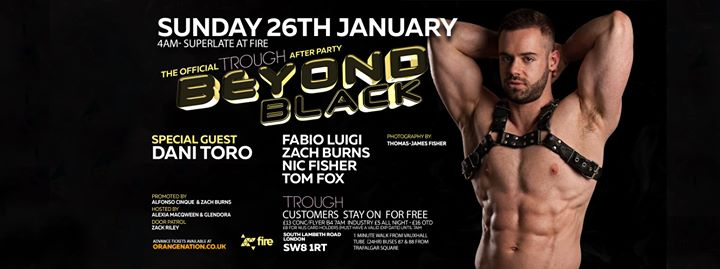 Beyond Black - The Trough London 3rd Birthday Afterparty in London le Sun, January 26, 2020 from 04:00 am to 12:00 pm (After Gay)