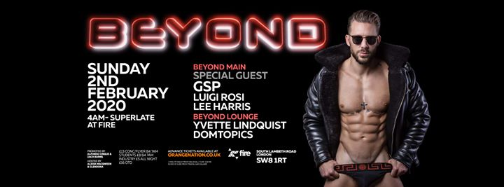 Beyond Afterhours - Sunday 2nd February 2020 in London le Sun, February  2, 2020 from 04:00 am to 12:00 pm (After Gay)