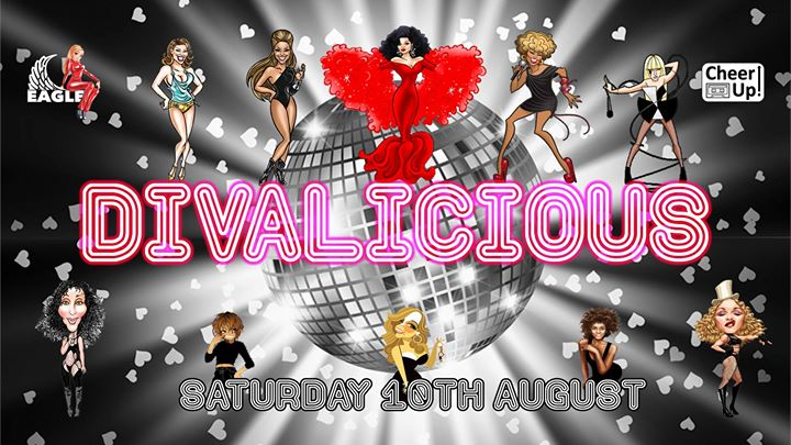 Cheer Up presents: Divalicious with KYM SIMS Live in London le Sa 10. August, 2019 21.00 bis 04.00 (Clubbing Gay)