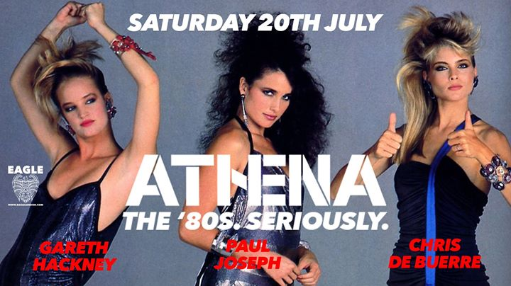 Athena - July Party in London le Sat, July 20, 2019 from 09:00 pm to 04:00 am (Clubbing Gay)