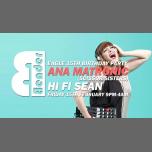 Bender w/ Ana Matronic & Hifi Sean à Londres le ven.  8 mars 2019 de 21h00 à 04h00 (Clubbing Gay)