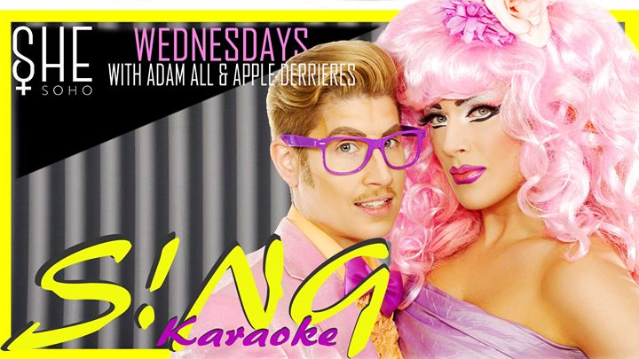 S!NG Karaoke! in London le Wed, October  2, 2019 from 07:30 pm to 11:30 pm (After-Work Lesbian)