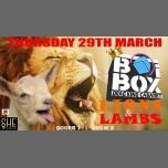 BOiBOX: Lions & Lambs! à Londres le jeu. 29 mars 2018 de 19h00 à 23h30 (Clubbing Lesbienne)