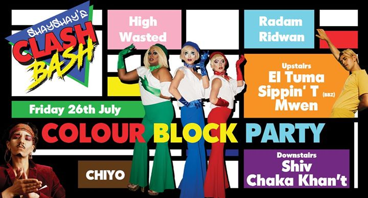 Clash Bash no.11 ~ Colour Block Party em Londres le sex, 26 julho 2019 21:00-03:00 (Clubbing Gay)