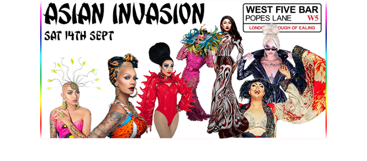 LDF 5 Asian Invasion in London le Sat, September 14, 2019 from 06:00 pm to 03:00 am (Clubbing Gay)
