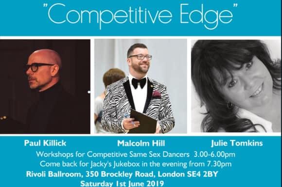 伦敦Competitive Edge - Competitor Workshops2019年 3月 1日,15:00(男同性恋, 女同性恋 作坊)