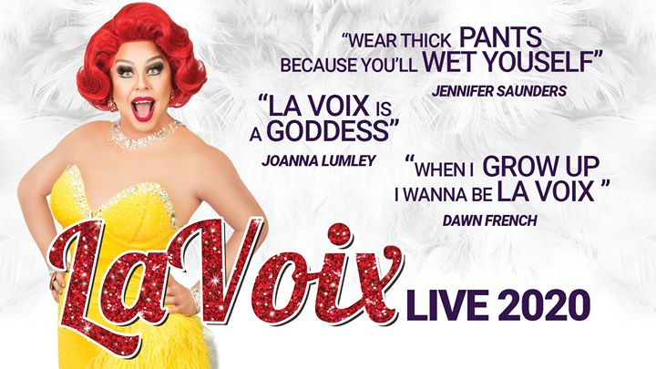 La Voix - The UK's Funniest Red Head a Tamworth le ven  6 marzo 2020 19:30-23:00 (Concerto Gay friendly, Lesbica friendly)