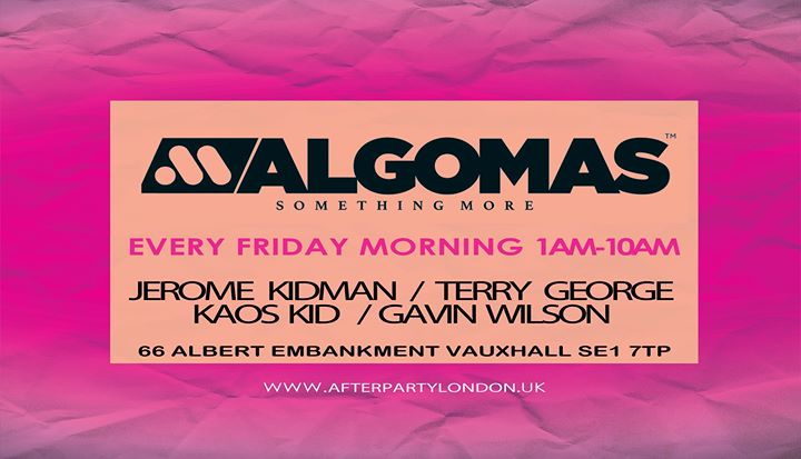 Algo Mas Every Thursday Night / Friday Morning à Londres le jeu. 29 août 2019 de 23h59 à 10h00 (Clubbing Gay)