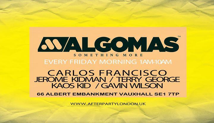 伦敦Algo Mas Every Thursday Night / Friday Morning2019年11月19日,23:59(男同性恋 俱乐部/夜总会)