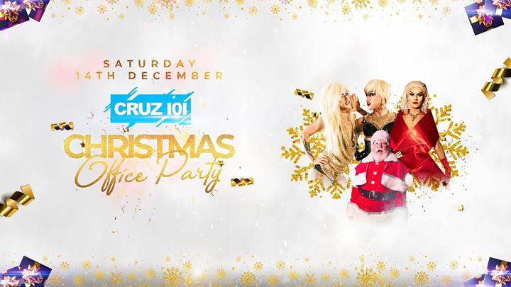 Cruz 101 Christmas Office Party en Manchester le sáb 14 de diciembre de 2019 23:00-07:00 (Clubbing Gay)