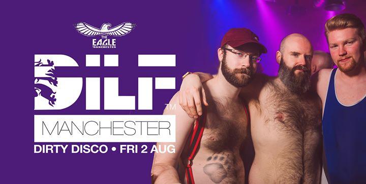 DILF MCR: Dirty Disco w DJ Matthew Rothery (Kiss Me Again) à Manchester le ven.  2 août 2019 de 23h00 à 05h00 (Clubbing Gay)