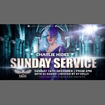 Charlie Hides does Sunday Service à Manchester le dim. 16 décembre 2018 de 14h00 à 20h00 (After-Work Gay)