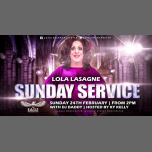 Lola Lasagne does Sunday Service in Manchester le Sun, February 24, 2019 from 02:00 pm to 08:00 pm (Clubbing Gay)