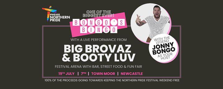 Newcastle upon TyneBongos Bingo at Northern Pride2019年 7月19日,19:00(男同性恋, 女同性恋 节日)