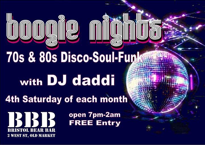 布里斯托尔Boogie Nights2019年 9月24日,21:00(男同性恋, 熊 俱乐部/夜总会)