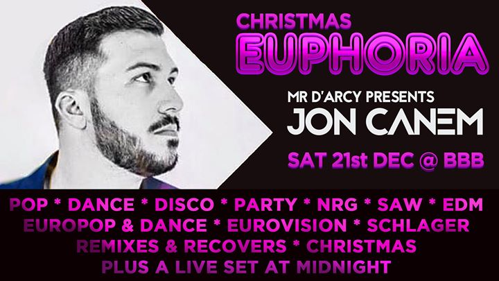 Euphoria Bristol in Bristol le Sat, December 14, 2019 from 09:00 pm to 02:00 am (Clubbing Gay, Bear)