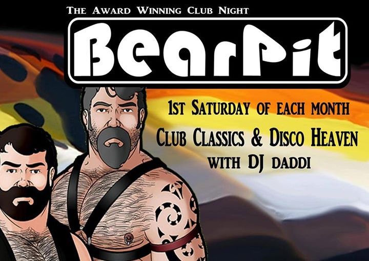 BearPit in Bristol le Sat, August  3, 2019 from 09:00 pm to 02:00 am (Clubbing Gay, Bear)