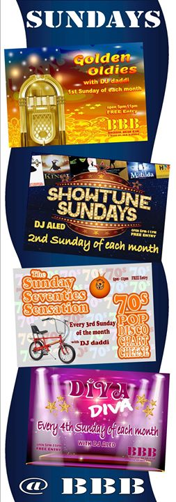 Showtune Sundays a Bristol le dom  8 settembre 2019 17:00-23:00 (After-work Gay, Orso)