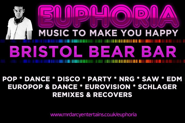 Euphoria Bristol in Bristol le Sat, November  9, 2019 from 09:00 pm to 02:00 am (Clubbing Gay, Bear)